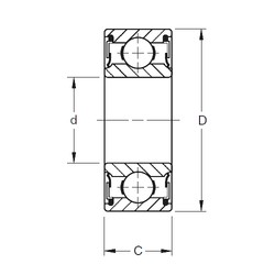 70 mm x 150 mm x 63,5 mm  Timken W314PP deep groove ball bearings
