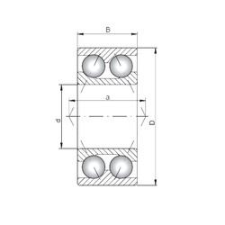 Loyal 3314 angular contact ball bearings