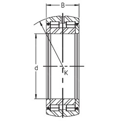 150 mm x 225 mm x 75 mm  INA SL05 030 E cylindrical roller bearings