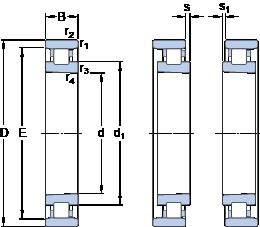 65 mm x 100 mm x 18 mm  SKF N 1013 KTNHA/HC5SP cylindrical roller bearings