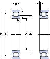 65 mm x 100 mm x 18 mm  SKF N 1013 KTN/SP cylindrical roller bearings