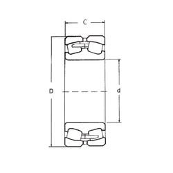 180 mm x 320 mm x 86 mm  FBJ 22236 spherical roller bearings