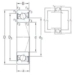 20 mm x 42 mm x 12 mm  SNFA VEX 20 /S/NS 7CE1 angular contact ball bearings
