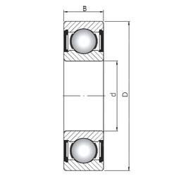 70 mm x 150 mm x 63,5 mm  ISO 63314 ZZ deep groove ball bearings