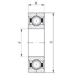Loyal Q1013 angular contact ball bearings
