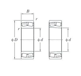 180 mm x 320 mm x 86 mm  KOYO 22236RHA spherical roller bearings