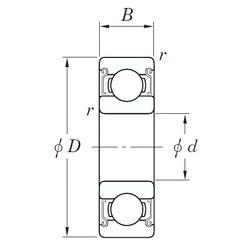 20 mm x 42 mm x 12 mm  KOYO SE 6004 ZZSTMG3 deep groove ball bearings