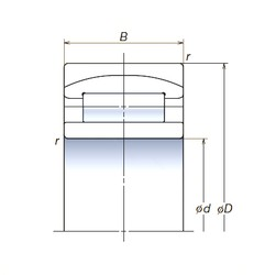 150 mm x 225 mm x 75 mm  NSK 150RUB40APV spherical roller bearings
