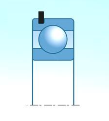 20,000 mm x 42,000 mm x 12,000 mm  NTN 6004ZNR deep groove ball bearings