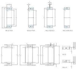 380 mm x 520 mm x 140 mm  SKF NNU 4976 B/SPW33 cylindrical roller bearings