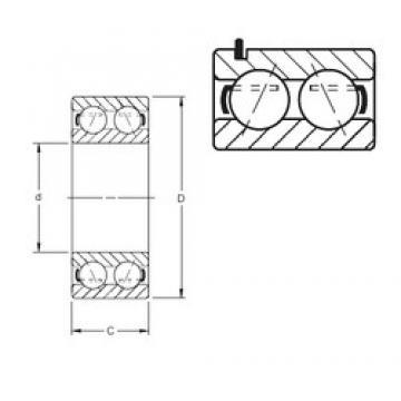 Timken 5314WG angular contact ball bearings