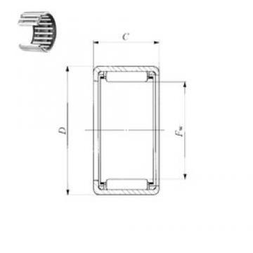 IKO TLA 810 Z needle roller bearings