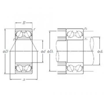 17 mm x 47 mm x 22,2 mm  NTN 5303S angular contact ball bearings