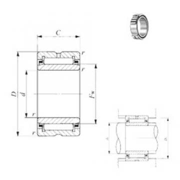 380 mm x 520 mm x 140 mm  IKO NA 4976 needle roller bearings
