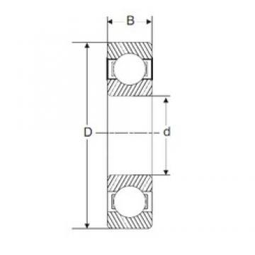65 mm x 100 mm x 18 mm  SIGMA 6013 deep groove ball bearings