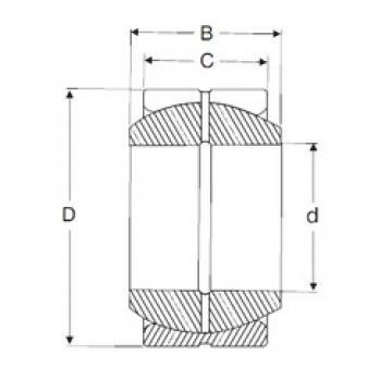 20 mm x 35 mm x 16 mm  SIGMA GE 20 ES plain bearings
