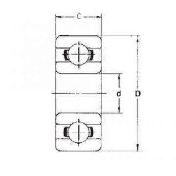 3,175 mm x 9,525 mm x 3,967 mm  FBJ 77R2 deep groove ball bearings