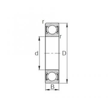 65 mm x 100 mm x 18 mm  CYSD 6013-2RS deep groove ball bearings