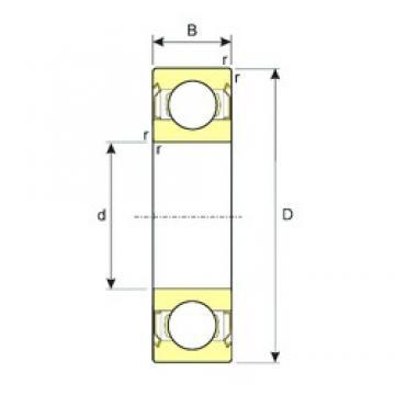 65 mm x 100 mm x 18 mm  ISB SS 6013-ZZ deep groove ball bearings