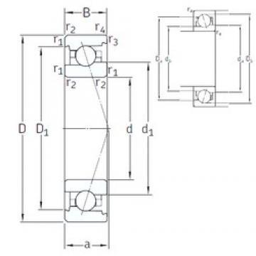 65 mm x 100 mm x 18 mm  SNFA VEX 65 /NS 7CE3 angular contact ball bearings