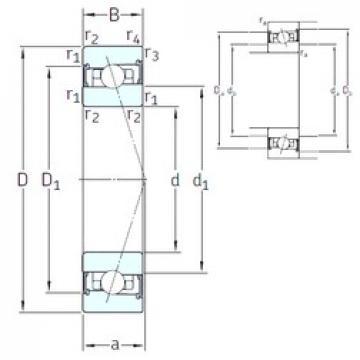 65 mm x 100 mm x 18 mm  SNFA HX65 /S/NS 7CE1 angular contact ball bearings