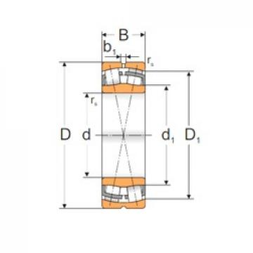 180 mm x 320 mm x 86 mm  Loyal 22236 ACMW33 spherical roller bearings