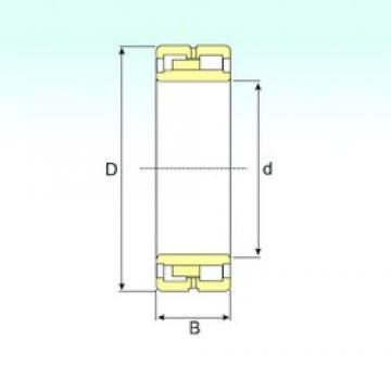380 mm x 520 mm x 140 mm  ISB NNU 4976 K/SPW33 cylindrical roller bearings