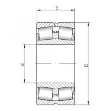 180 mm x 320 mm x 86 mm  ISO 22236W33 spherical roller bearings