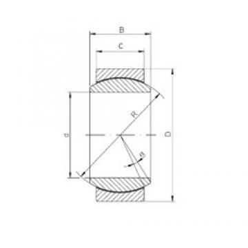 20 mm x 35 mm x 16 mm  Loyal GE 020 ECR-2RS plain bearings
