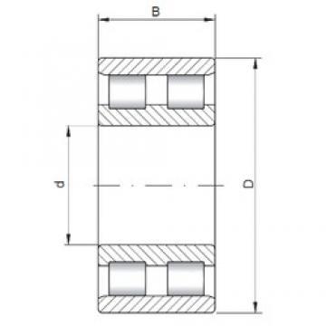 120 mm x 200 mm x 62 mm  ISO NN3124 cylindrical roller bearings