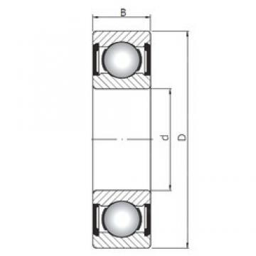 20 mm x 42 mm x 12 mm  Loyal 6004 ZZ deep groove ball bearings