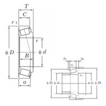 35 mm x 62 mm x 18 mm  KOYO HI-CAP ST3562LFT tapered roller bearings
