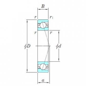 65 mm x 100 mm x 18 mm  KOYO 3NCHAC013CA angular contact ball bearings