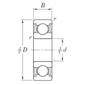 20 mm x 42 mm x 12 mm  KOYO SE 6004 ZZSTMSA7 deep groove ball bearings