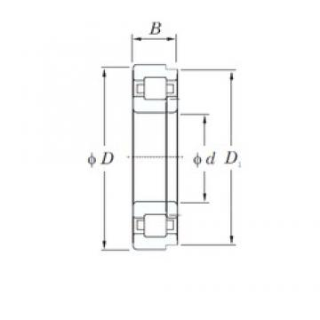 180 mm x 320 mm x 86 mm  KOYO NUP2236R cylindrical roller bearings