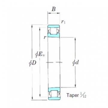 65 mm x 100 mm x 18 mm  KOYO 3NCN1013K cylindrical roller bearings