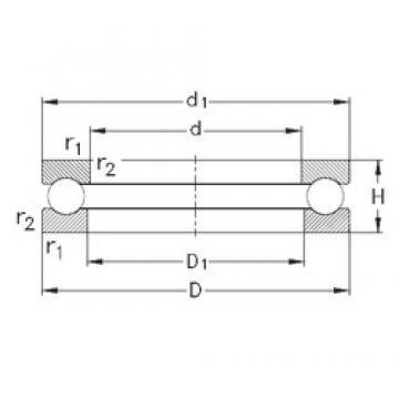 NKE 51207 thrust ball bearings