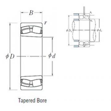 180 mm x 320 mm x 86 mm  NSK 22236CDKE4 spherical roller bearings