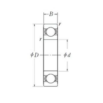 20 mm x 42 mm x 12 mm  NSK 6004L11ZZ deep groove ball bearings