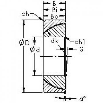 AST GAC35N plain bearings