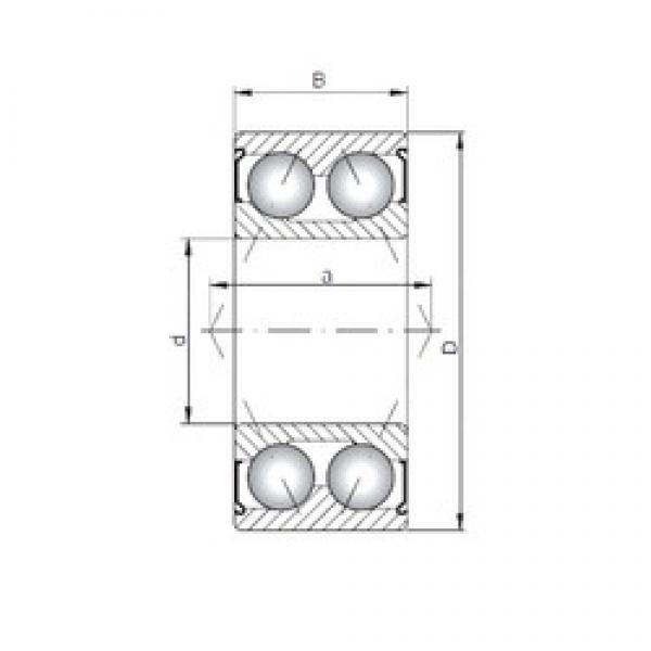 ISO 3314 ZZ angular contact ball bearings #1 image